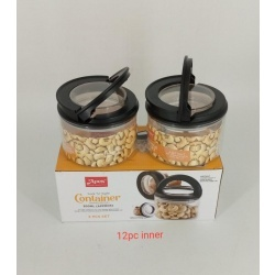 2 PC LOCK N TIGHT CONTAINER 300 ML SET