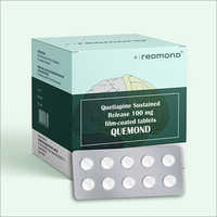 100 MG Quetiapine Sustained Release Film-Coated Tablets
