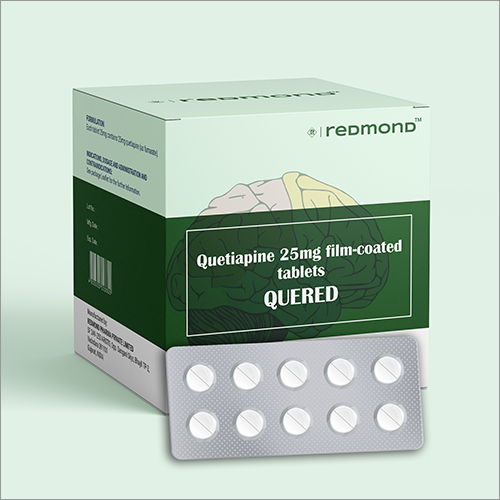 25 MG Quetiapine Film-Coated Tablets