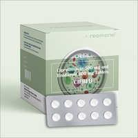 Ciprofloxacin 500 MG And Tinidazole 600 MG Tablets