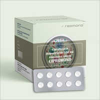500 MG Ciprofloxacin Hydrochloride Film-Coated Tablets