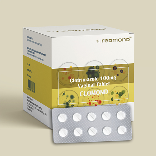 100 MG Clotrimazole Vaginal Tablets