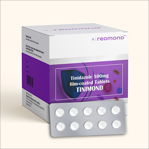 500 MG Tinidazole Film Coated Tablets