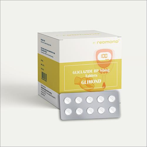 80 MG Gliclazide BP Tablets