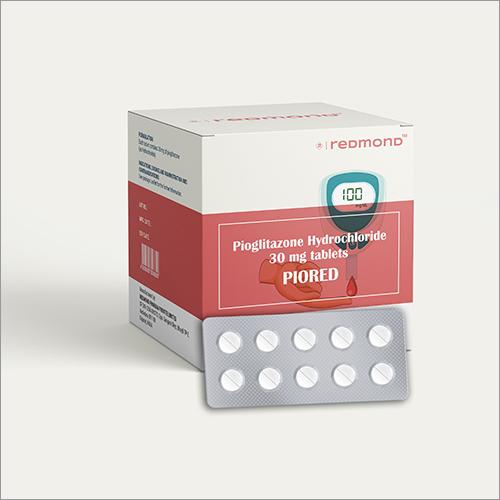 30 MG Pioglitazone Hydrochloride Tablets