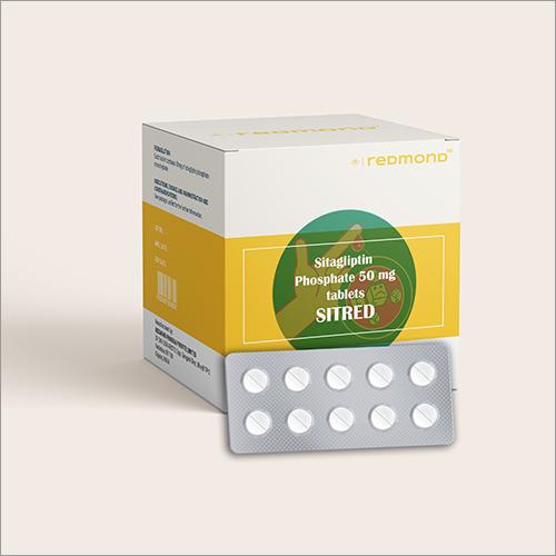50 MG Sitagliptin Phosphate Tablets