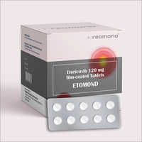 Etoricoxib 120mg Film-Coated Tablet