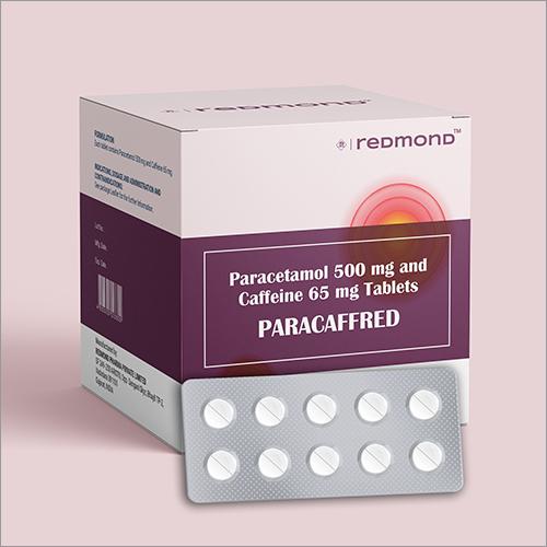 Paracetamol 500mg + Caffeine 65mg Film-Coated Tablet