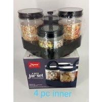 Apex 4 Pc Classic Jar Container Set