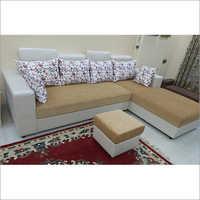 L Shape Full Cushion Sofa Set