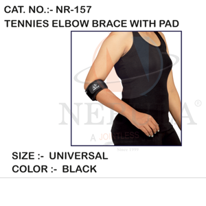 TENNIES ELBOW BRACE WITH PAD