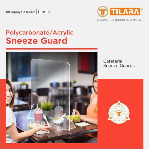 Cafeteria Sneeze Guard