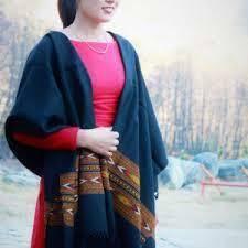 Wool Woven Kullu Handloom Shawl