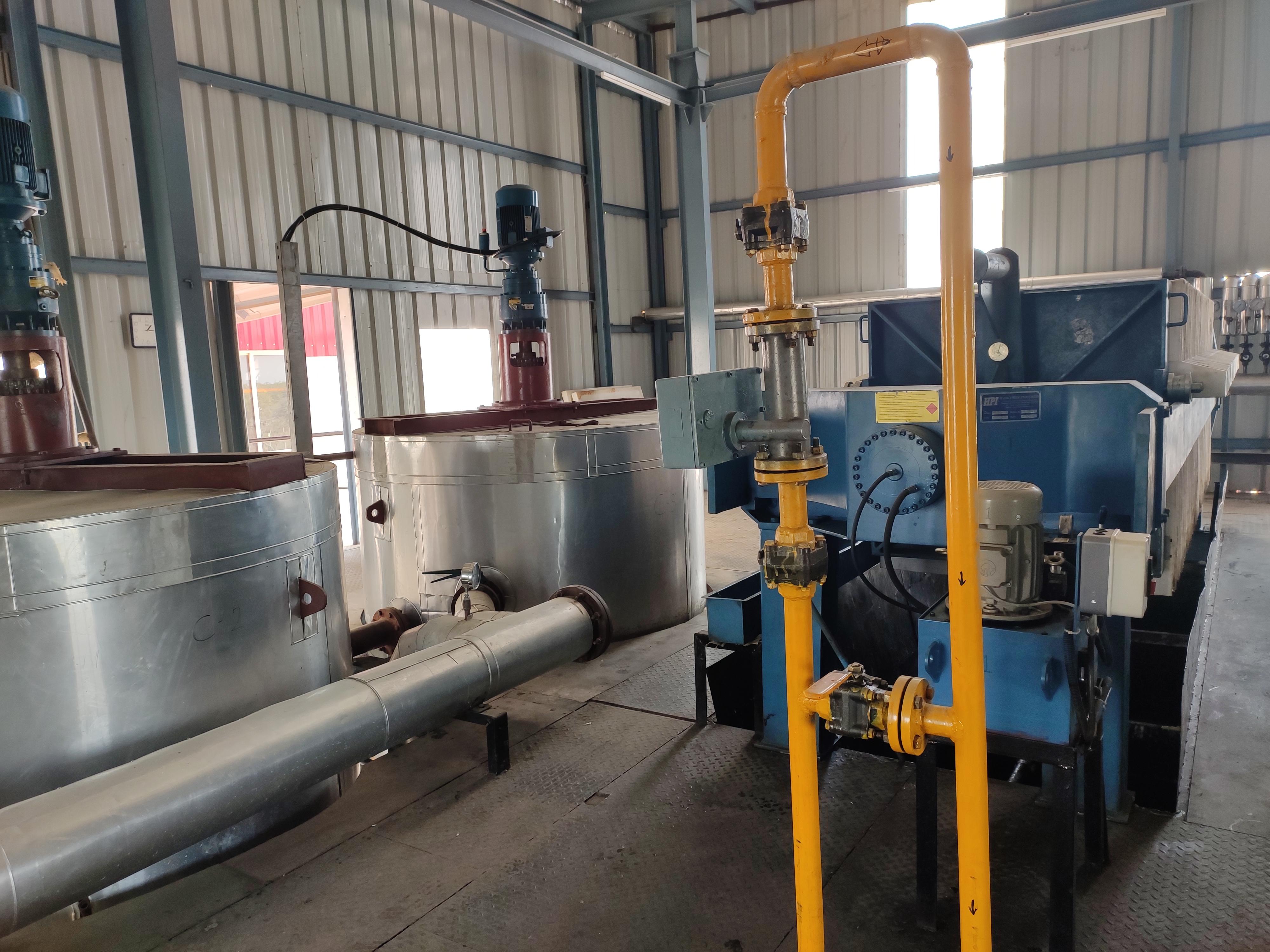 Rbd Palm Fractionation Plant