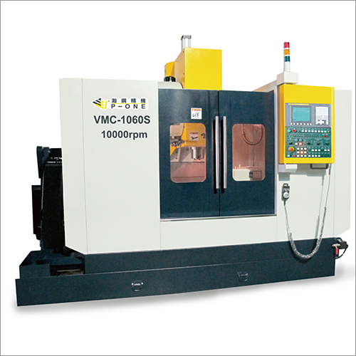 10000 RPM XY Axis Linear Guide And Z Axis Box Way CNC Machining Center