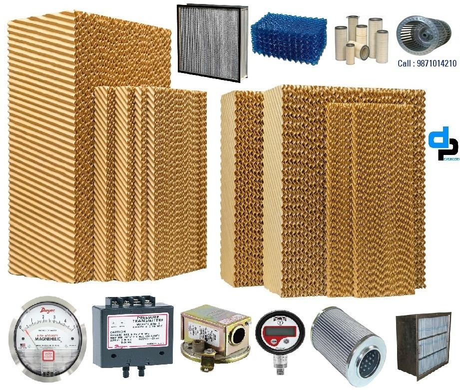 Energy Efficient Honeycomb Celdek Cellulose Pad