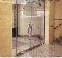toughened glass doors