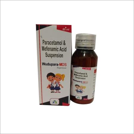 Paracetamol And Mefenamic Acid Suspension
