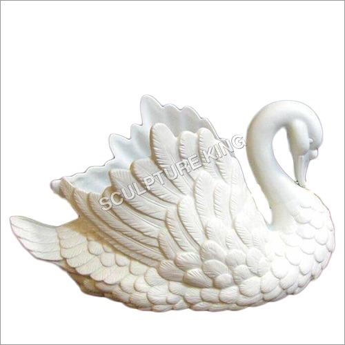 White Marble Swan