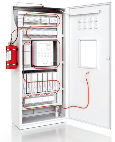 Tubing suppression System for Electrical Panel