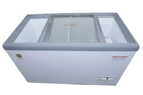 Nirvana Glass Top Freezer 500L