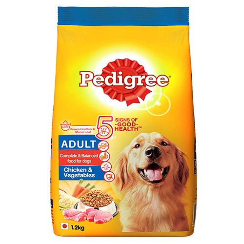 Pedigree Adult Chicken And Veg