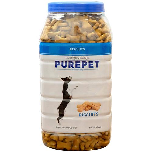 Purepet Biscuit Milk Flavour Jar