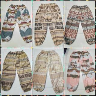 Woolen Harem Pants For The Winter