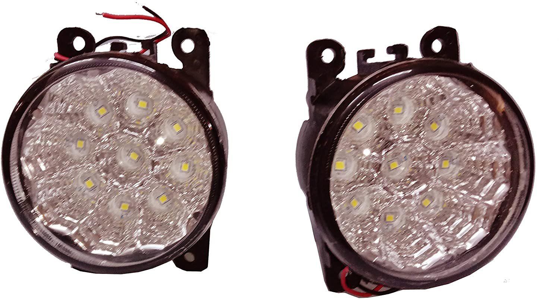 18 Led Car Bumper Fog Lamp Light For Maruti Suzuki Brezza