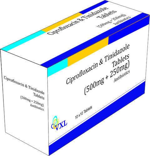 Ciprofloxacin+Tinidazole Tablets
