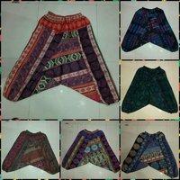 Afagni Style Woolen Harem Pants