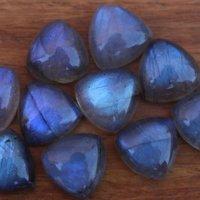 5mm Labradorite Trillion Cabochon Loose Gemstones