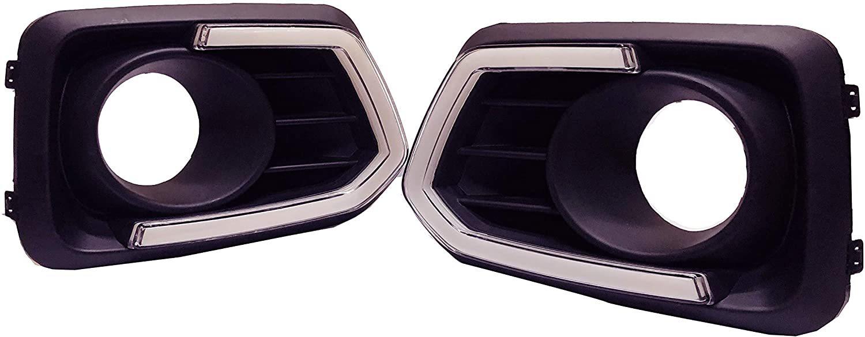 Car Day Running Fog Light DRL For Suzuki Brezza 2020 with Indicator Light