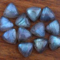 6mm Labradorite Trillion Cabochon Loose Gemstones