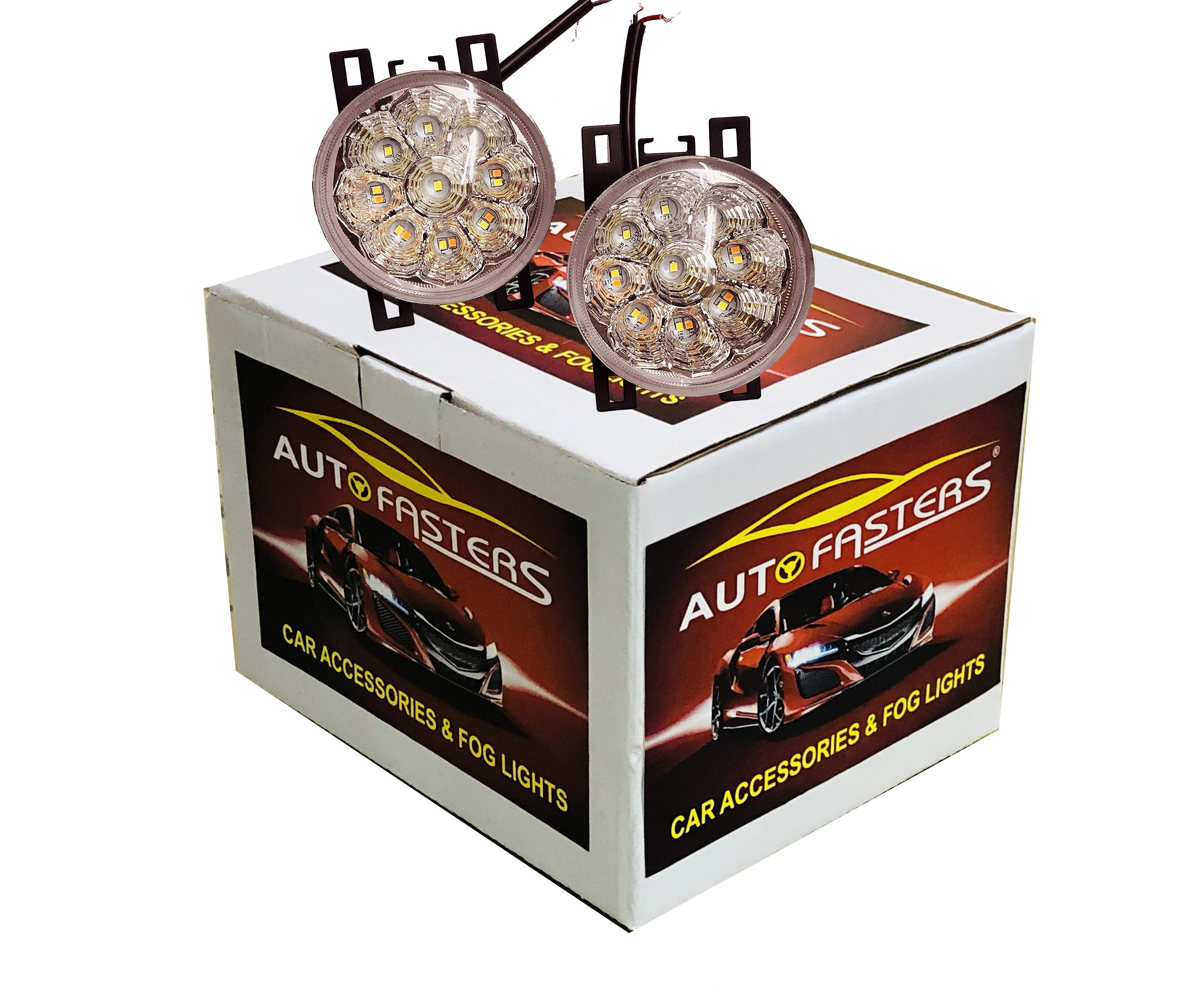 Led Car Fog Light With indicator For Swift, Ritz, Swift Dzire, Baleno, WagonR, S Cross, X L 6, Eartia, SX4, Ignis, Ciaz, Brezza, Celerio, old Alto