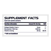 Collagen Peptide Glucosamine  Vitamin C Sachet