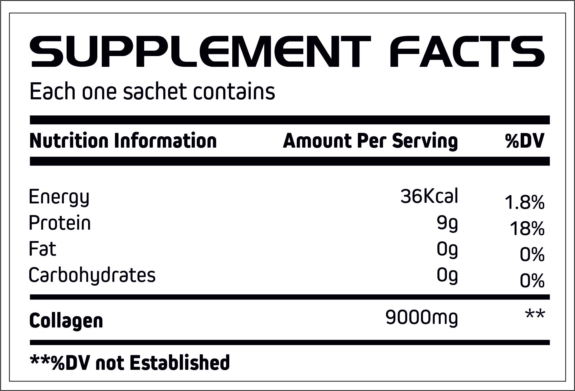 Collagen Sachet