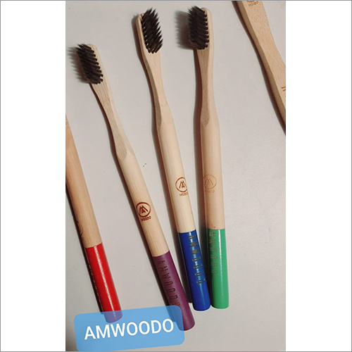 Bamboo Toothbrush Curvy Handle