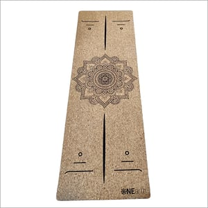 Eco Friendly Cork Yoga Mat With Natural Rubber