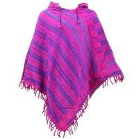 Acrylic Woolen Tibetan Poncho