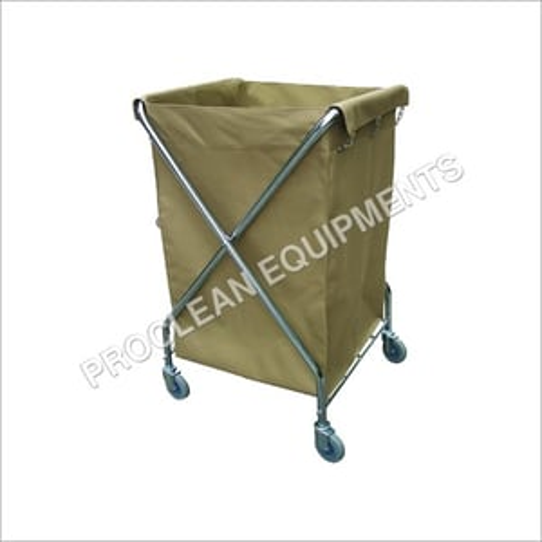 Portable X Shape Laundry Cart