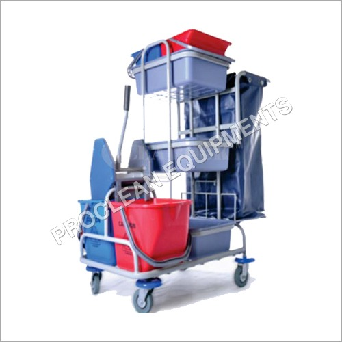 Multi Purpose Mop Wringer Trolley