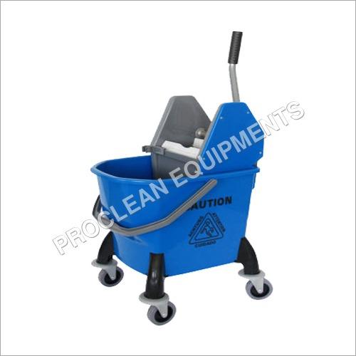 26 Ltr Single Mop Wringer Trolley