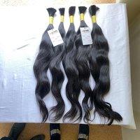 Natural Raw Unprocessed Virgin Bulk Human Hair