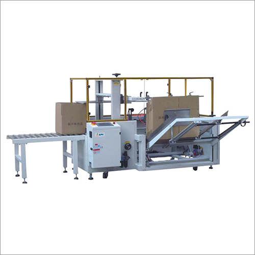 Fully Automatic Carton Forming And Bottom Sealing Machine