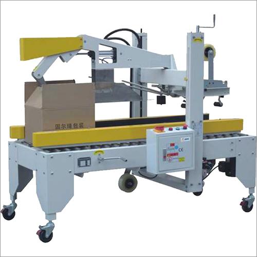 Semi-Automatic Flaps Folding Carton Sealer Machine