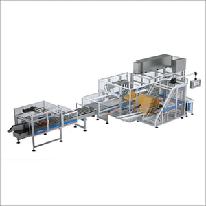 Wrap Around Case Packer Machine For Paper Container