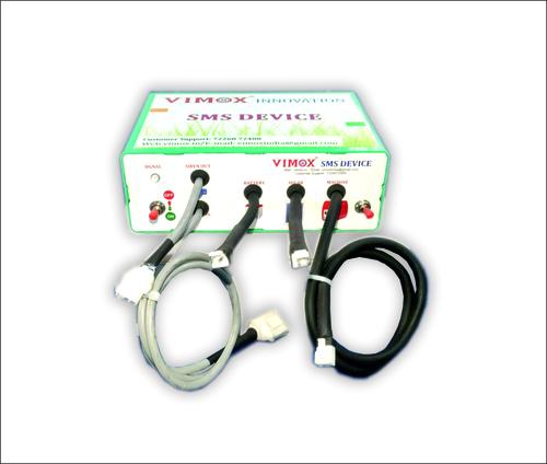 Solar zatka machine operator SMS device