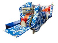 Single Phase Paper Bag Making Machine In Different Sizes