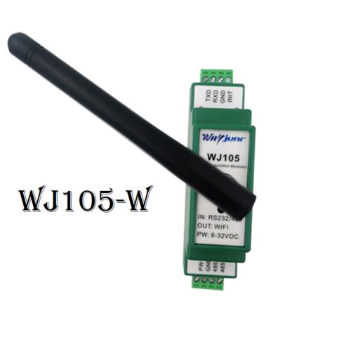 Modbus RTU to TCP module, RS232/485 to WiFi